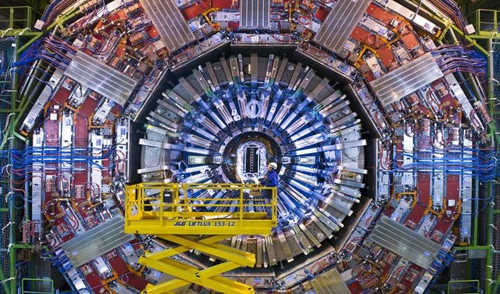 The Large Hadron Collider is back in service
