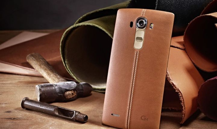 "Photos flagship LG G4 ""flowed"" in the network"