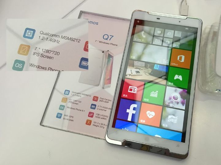 Ramos Q7 new smartphone on the 7-inch