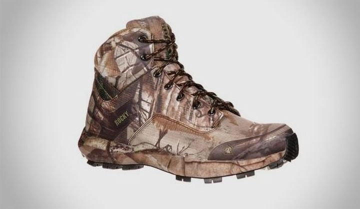 Rocky Broadhead Trail  - NEW SERIES camouflage Footwear for hunting