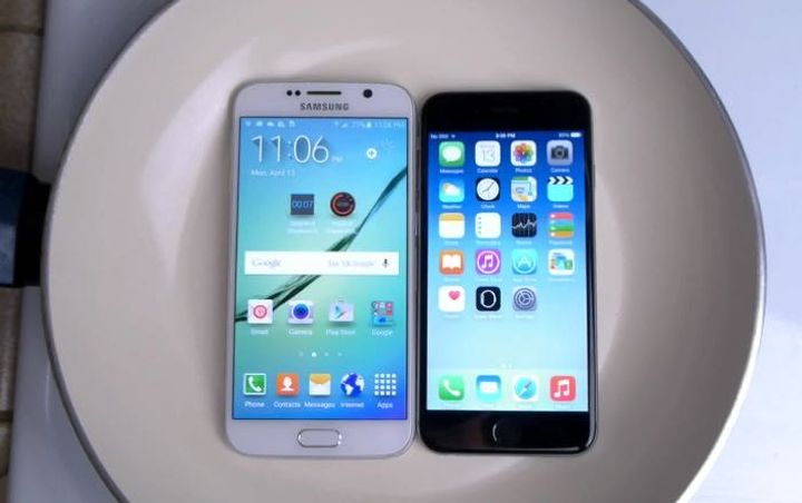 Samsung Galaxy S6 and iPhone 6 have experienced boiling water