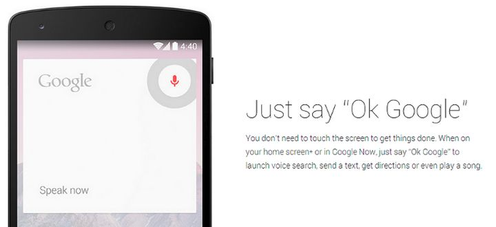 Samsung implements the S-Voice and destroys the voice search 'Ok, Google'
