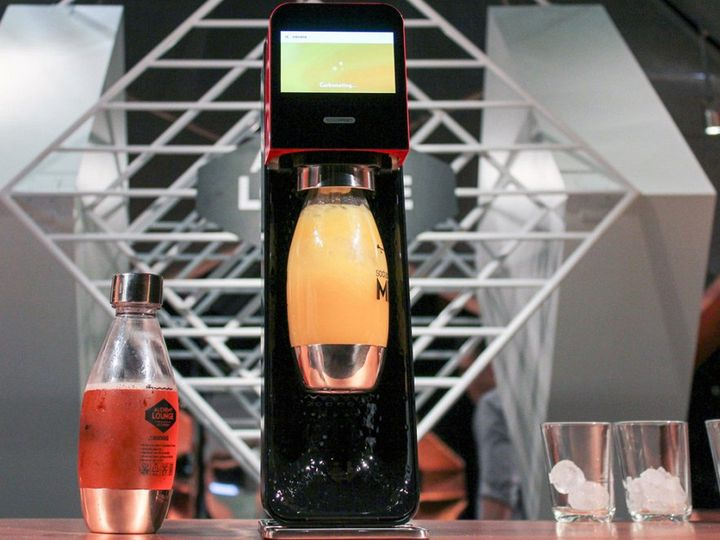 SodaStream Mix - a new device for lovers of various beverages