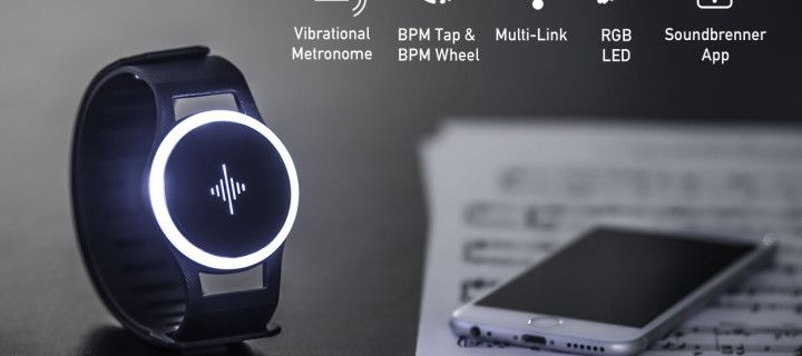 Soundbrenner Pulse - the first wearable device for musicians