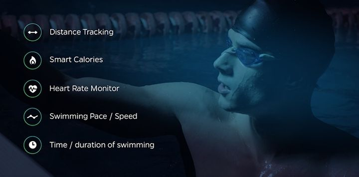 Swimmo - new SmartWatch for water sports