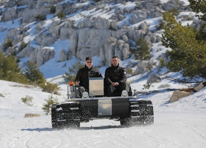 Venturi Antarctica - electric ATV for Antarctica