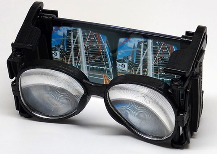 New virtual glasses Wearality Sky for your smartphone