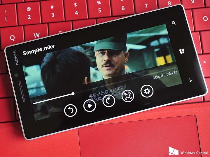 Windows Phone 8.1 Update 2 is now able to play MKV format