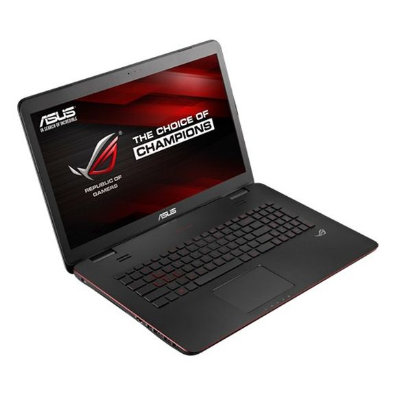 ASUS G771JW review - played for high stakes!