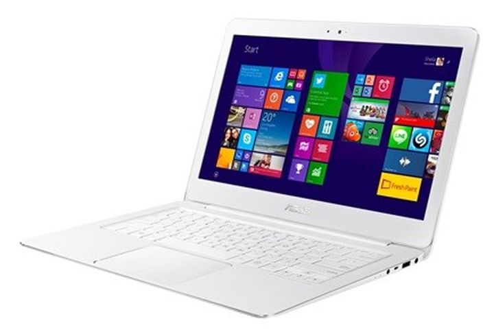 Asus ZenBook UX305 Crystal White: 999-dollar laptop with support for 4K
