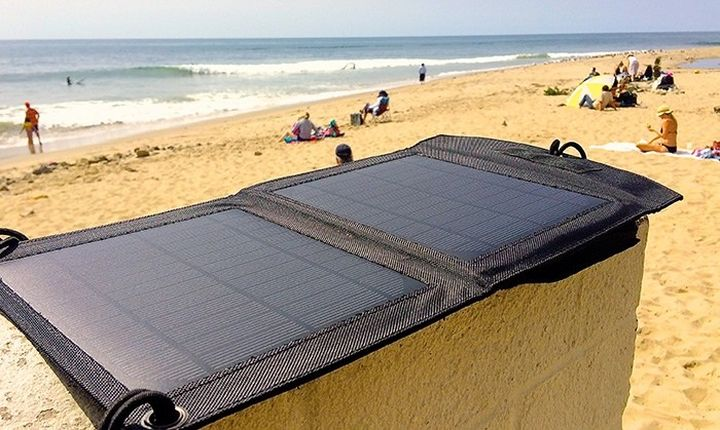 The Badger a new waterproof solar panel