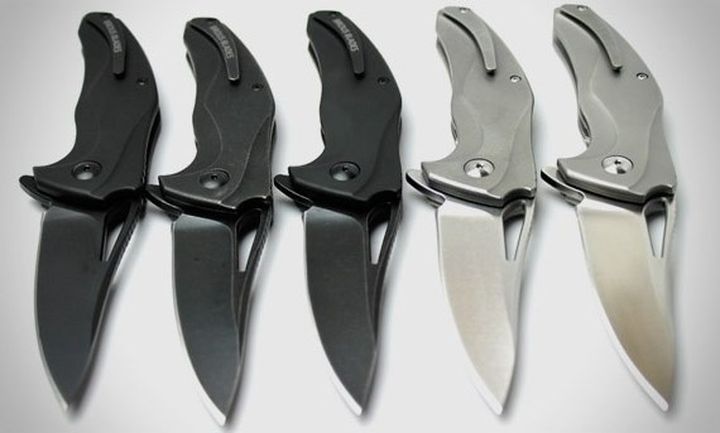 Casual folding knife Brous Blades Exo
