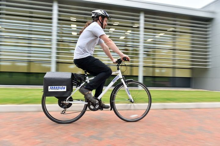 Created sodium-ion battery for electric bikes