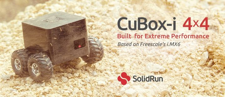 CuBox-i 4x4 a new computer-cube with 4-core processor
