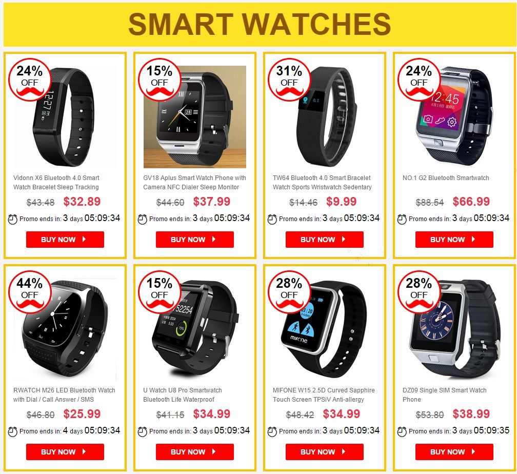 Father's Day sale from online store GearBest