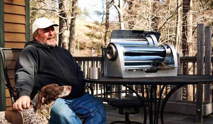 GoSun Grill a new portable grill, powered by solar energy