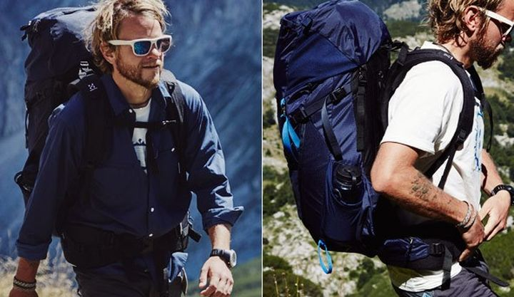 Haglöfs NEJD a new series of hiking backpacks