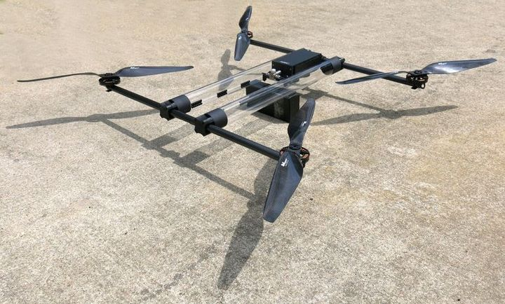 Hycopter new hydrogen drone