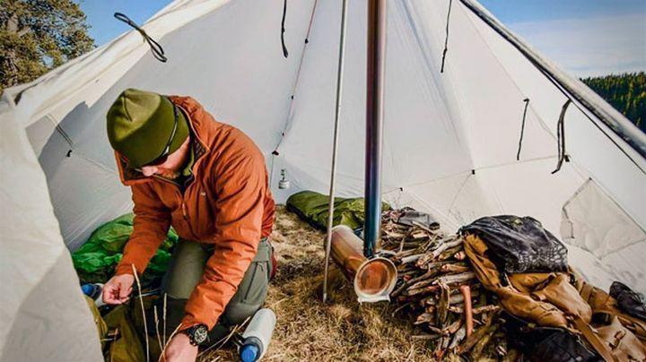 Kifaru Smith Cylinder Stove new camping equipment