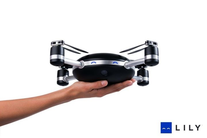 Lily a new unmanned aerial camera