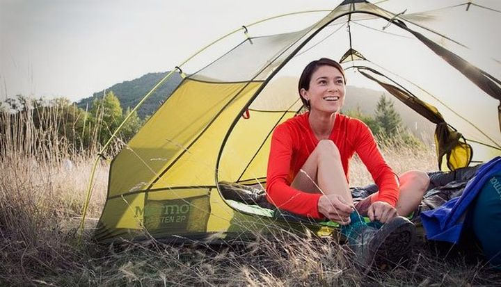 Marmot Tungsten new series of tourist tents