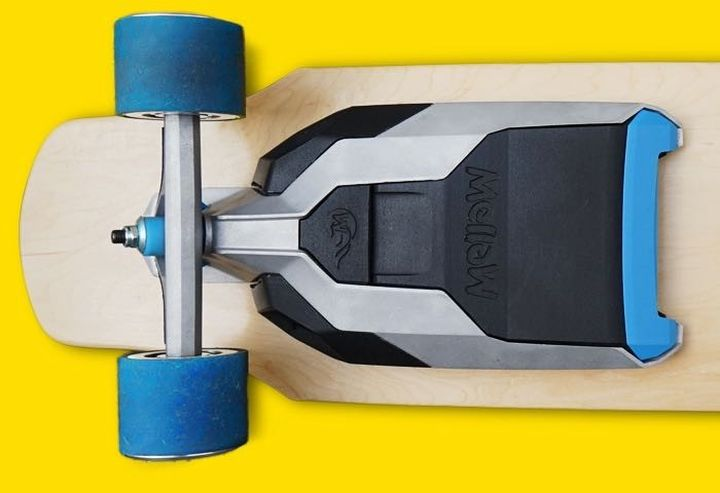 Mellow turns an ordinary in electric skateboard