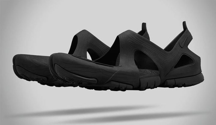 36e55d6fa NikeLab Free Rift Sandal a new sandals for the natural run