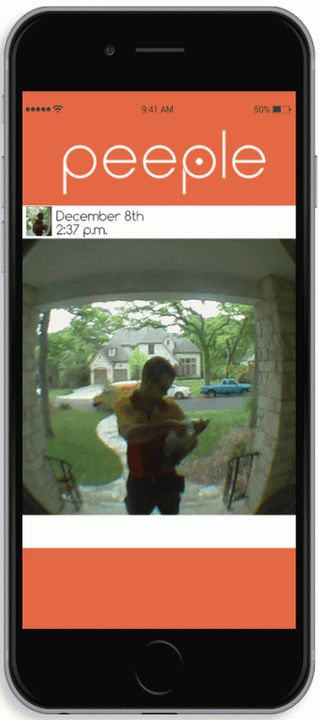 "Peeple a new ""smart"" camera for the front door"