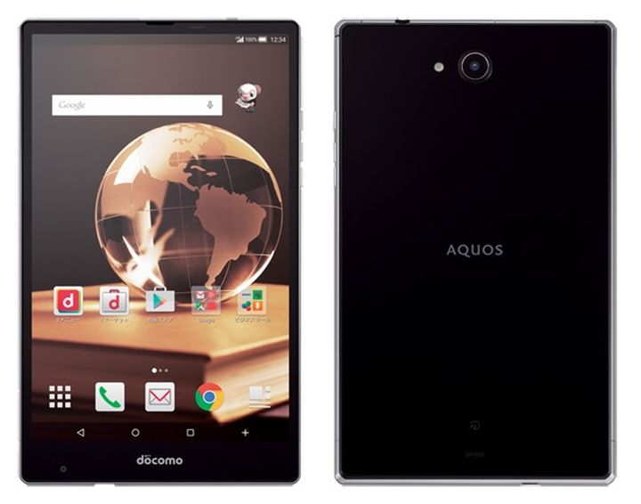 Sharp Aquos Pad SH-05G a new great tablet