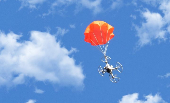 "SmartChutes a new ""smart"" parachute for drones"