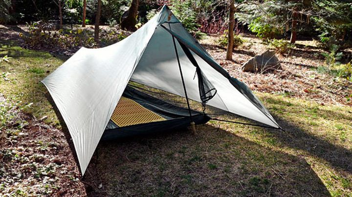 Tarptent ProTrail a new ultra-light single tent