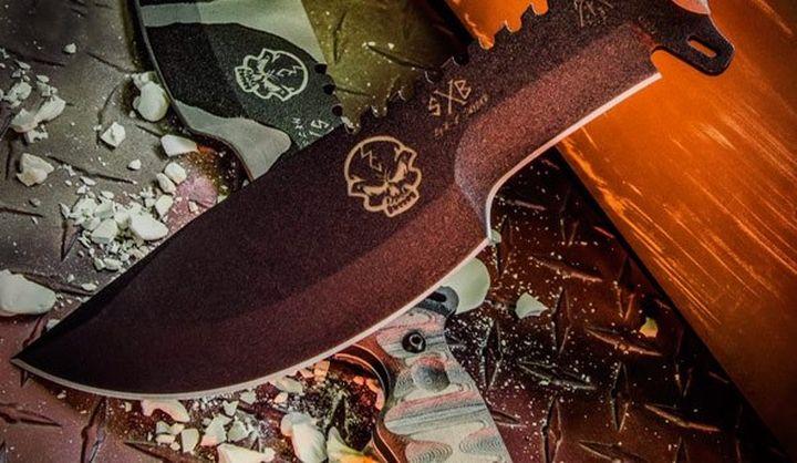 TOPS Skullcrusher's Xtreme Blade new working knife