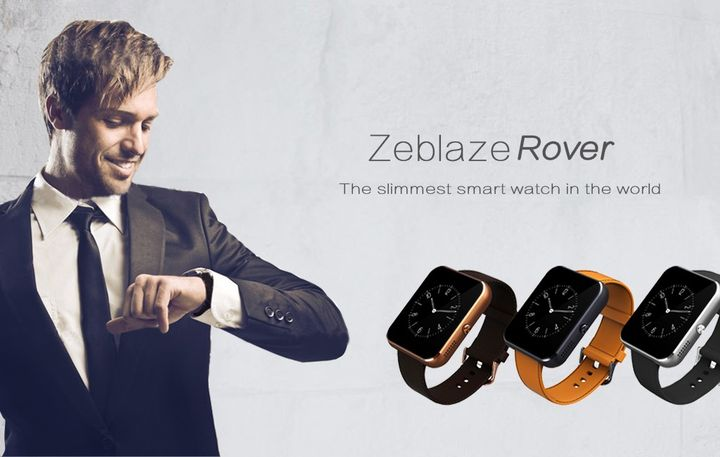 Zeblaze Rover new analogue Apple Watch for $ 52
