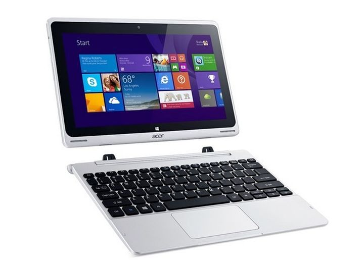 Acer Aspire Switch 10V: convertible tablet based on Intel Cherry Trail