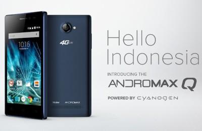 Andromax Q: $ 100 smartphone running Cyanogen OS 12