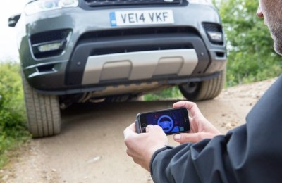 Driving Range Rover from a smartphone? Easy!