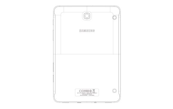 "FCC showed ""live"" photos of the tablet Samsung Galaxy Tab S2 8.0"