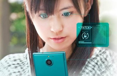 Fujitsu Arrows NX F-04G - announced the world's first smartphone with an iris scanner