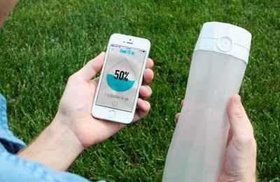 HidrateMe - «smart» Plastic Water Bottles
