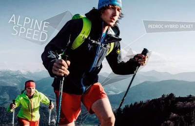 New light jacket for hiking Salewa Pedroc Hybrid Jacket
