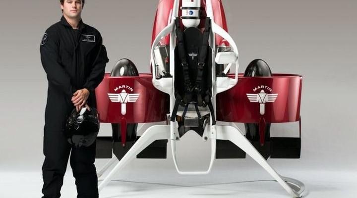 Martin Aircraft Jetpack - jetpack for 150 000 dollars