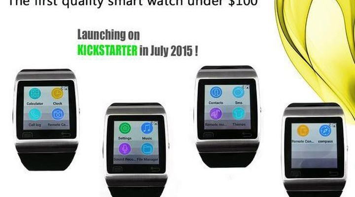 Mimoto Watch - smart clock for $ 98, which is necessary to wait in July Kickstarter