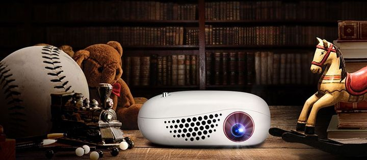 Minibeam Nano - the smallest projector from LG