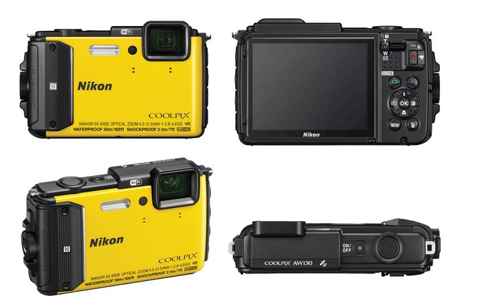 Nikon Coolpix AW130 review - extreme compact camera