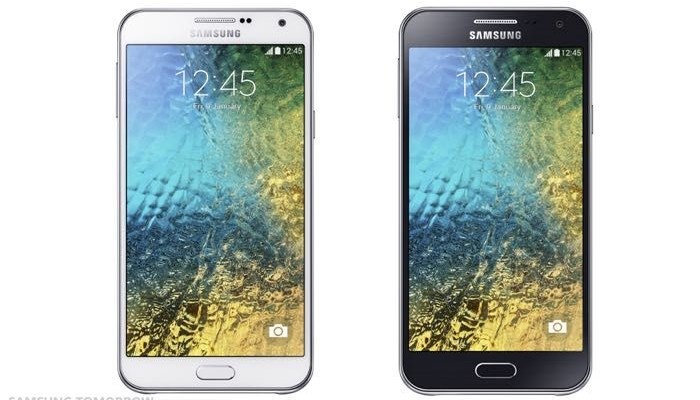 Samsung Galaxy E5 and Galaxy E7 on Android 5.0 will appear in the 3rd quarter