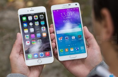 Who was the first Samsung Galaxy Note 5 or iPhone 6S?