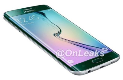 Samsung Galaxy S6 Plus edge appeared at a news picture