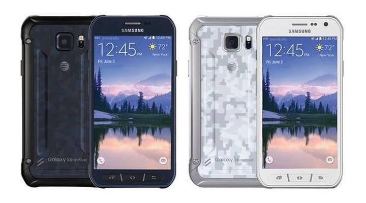 Samsung has introduced a smartphone Galaxy S6 Active