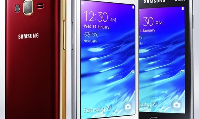 Samsung sold a million smartphone Samsung Z1 Tizen