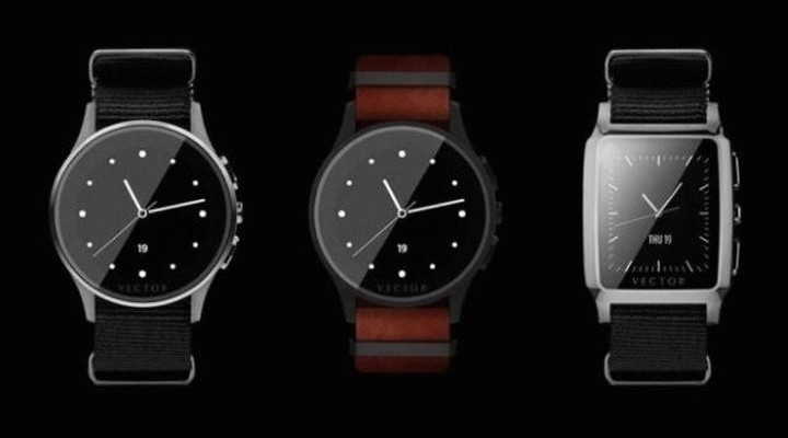Smart watch shows live Vector